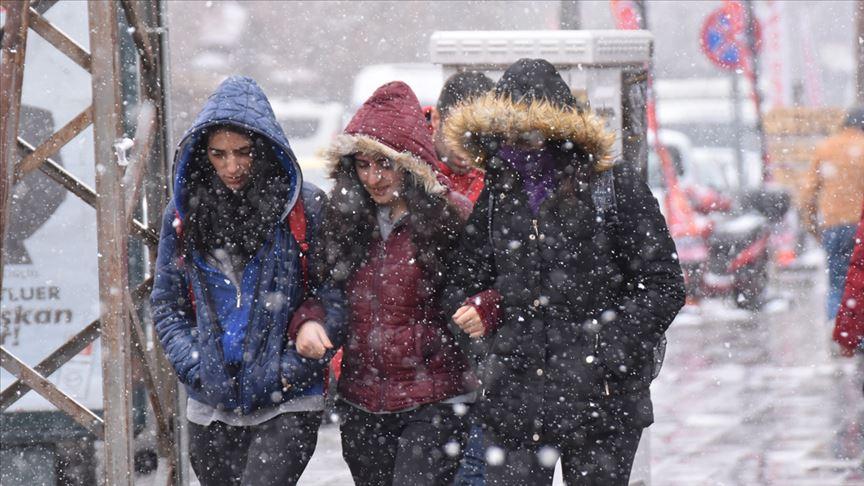 Doğu Anadolu'da 4 ilde kar yağışı bekleniyor