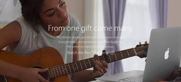Apple'dan duygulandıran Noel reklamı: The Song