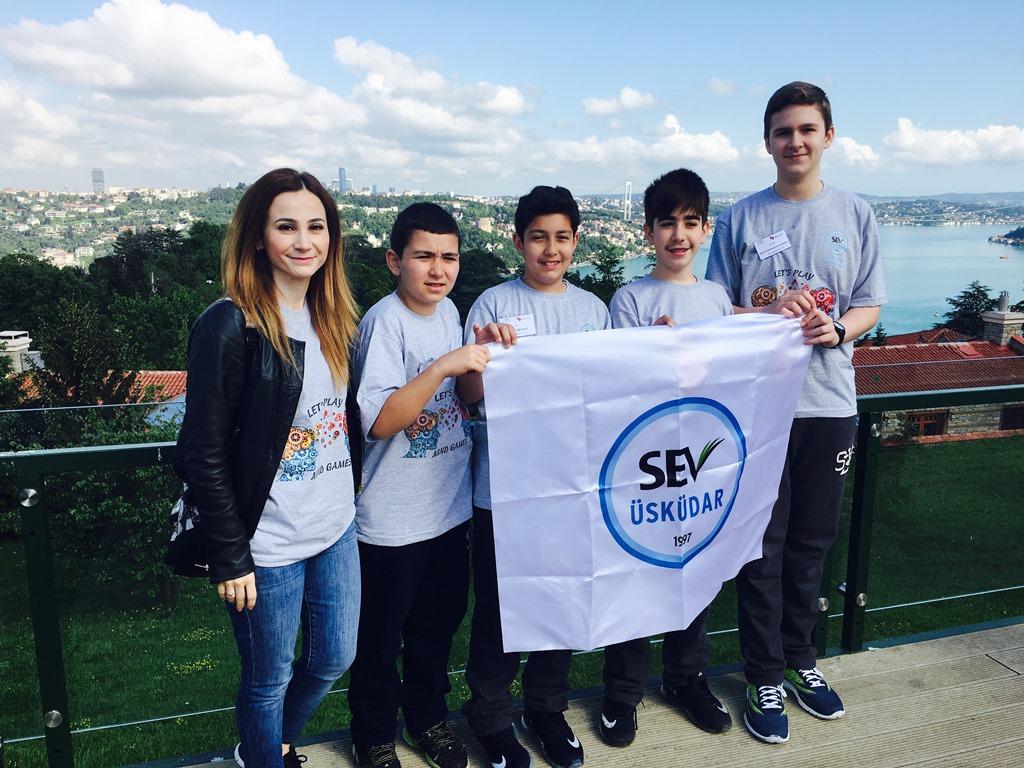 Üsküdar SEV Ortaokulu Türkiye'yi temsil etmeye hazırlanıyor