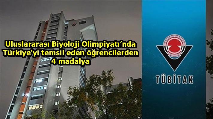 Uluslararası Biyoloji Olimpiyatı'nda Türkiye'yi temsil eden öğrencilerden 4 madalya