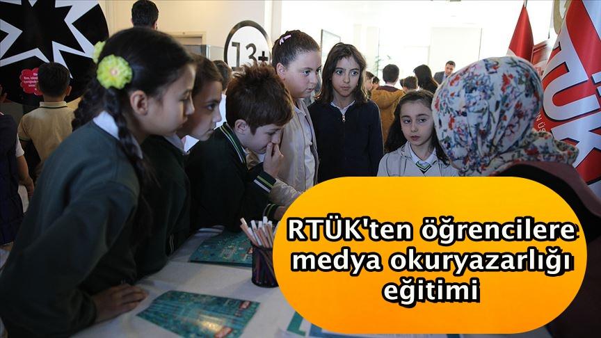 RTÜK'ten öğrencilere medya okuryazarlığı eğitimi