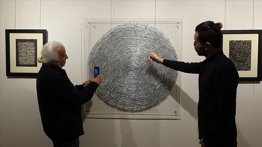 'Tavaf' sergisi sanatseverlerin beğenisine sunuldu