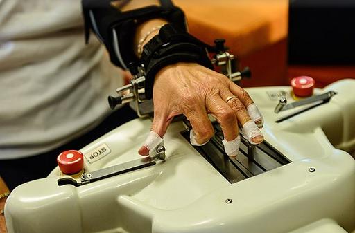 MS hastalarına robotik tedavi