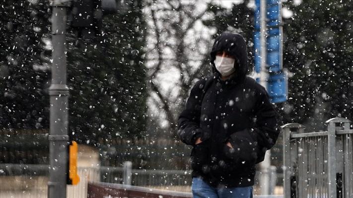 Marmara Bölgesi'nde akşam karla karışık yağmur ve kar bekleniyor