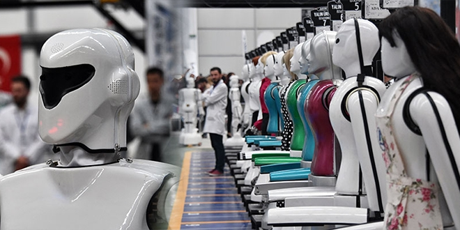 Türkiye'nin ilk insansı robot fabrikası Konya'da açıldı