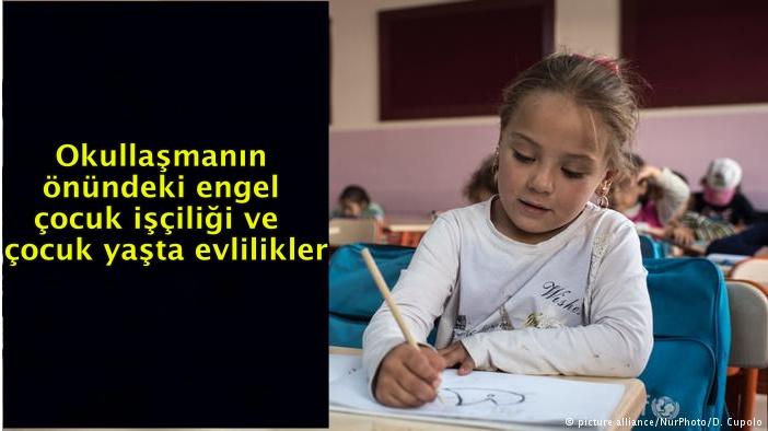 Türkiye'de 10 Suriyeli çocuktan 4'ü okula gidemiyor