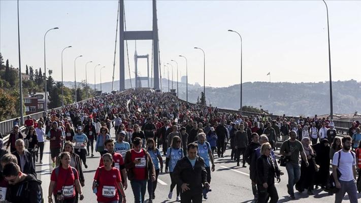 42. İstanbul Maratonu nedeniyle bazı yollar trafiğe kapatılacak