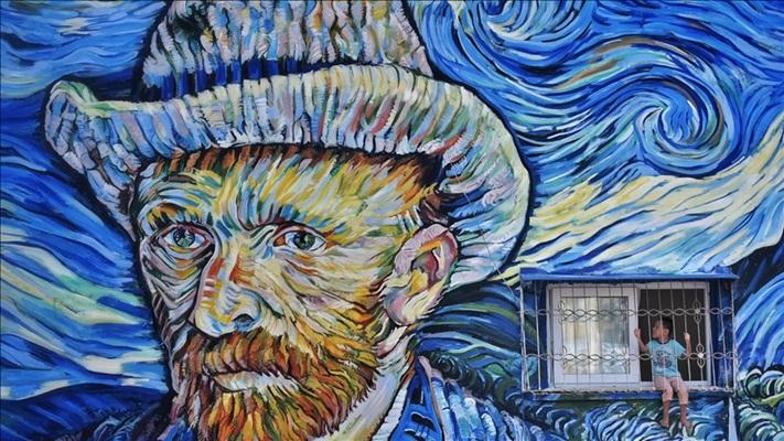 Ressam Vincent Van Gogh'un yeni keşfedilen çizimi ilk kez Amsterdam'da sergilendi