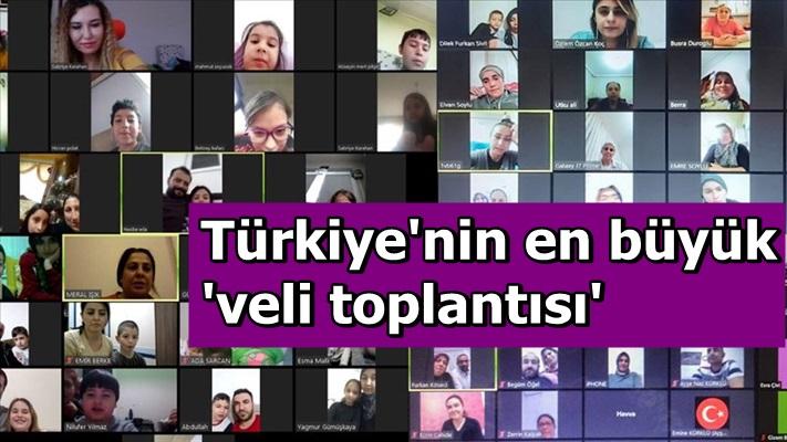 Türkiye'nin en büyük 'veli toplantısı'