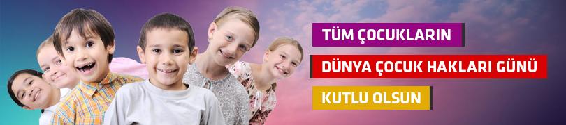 Tüm Çocukların Dünya Çocuk Hakları Günü Kutlu Olsun