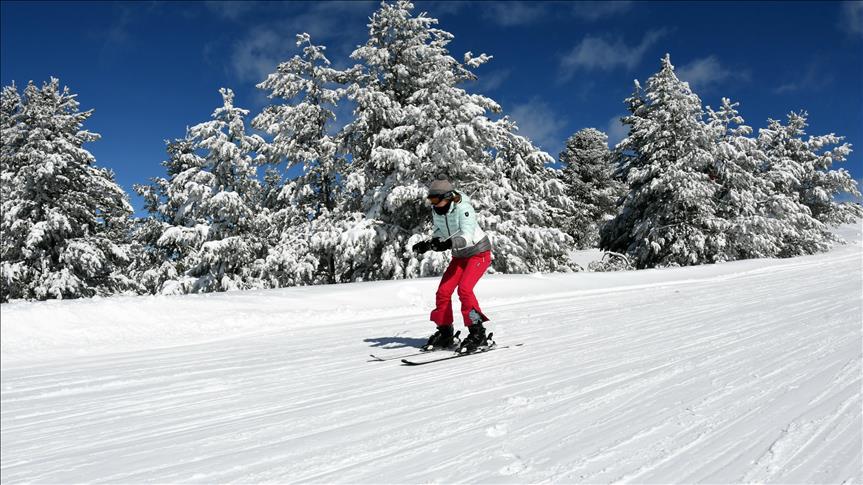 Cıbıltepe hafta sonu kayak sezonuna 'merhaba' diyecek