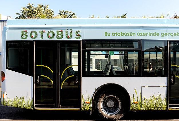 """Botanik otobüs """"BOTOBÜS"""" sefere başladı"""