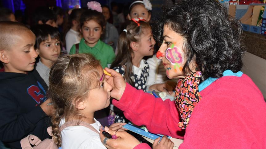 Köy okulu öğrencileri sinemayla buluştu