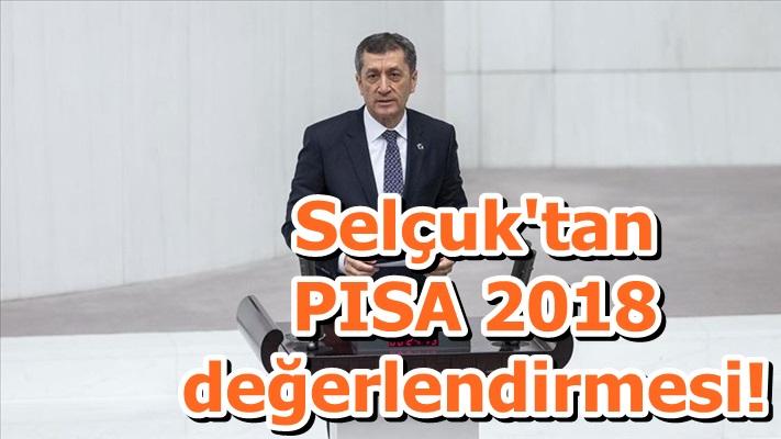 Selçuk'tan PISA 2018 değerlendirmesi!