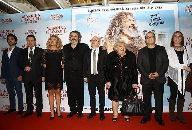 'Mandıra Filozofu İstanbul' Filminin Galası Yapıldı