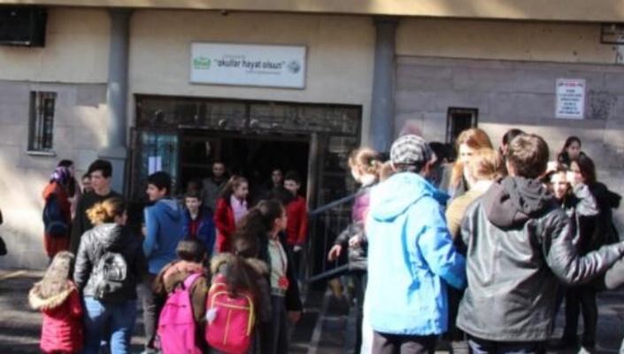 İki okul deprem riski nedeniyle boşaltılacak