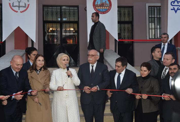 Ayhan Şahenk Mesleki ve Teknik Anadolu Lisesi Açılış Töreni