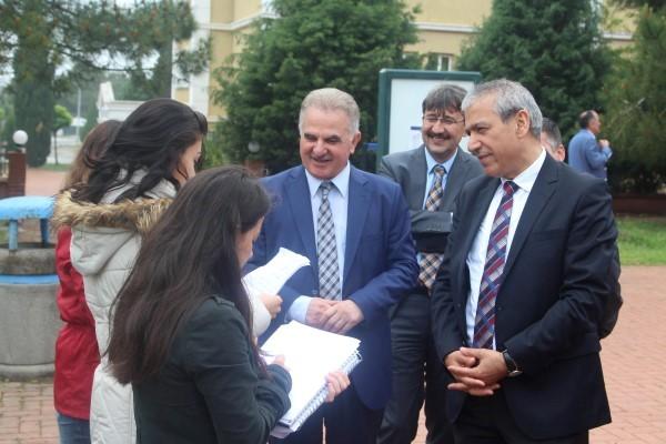Abbas Güçlü'den Sakarya Üniversitesi'ne ziyaret