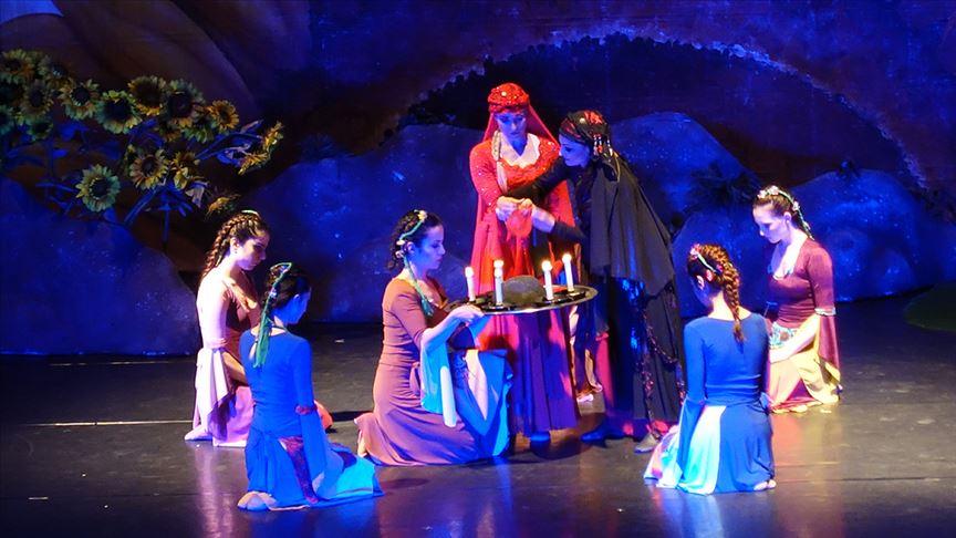 'Arda Boyları' balesi Trabzon'da sahnelendi