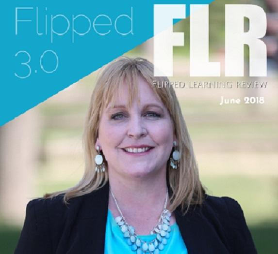 """FLIPPED LEARNING 3.0"" DERGİSİNİN BU AYKİ SAYISINA MEF ÜNİVERSİTESİ'NDEN DR. CAROLINE FELL KURBAN KAPAK OLDU"