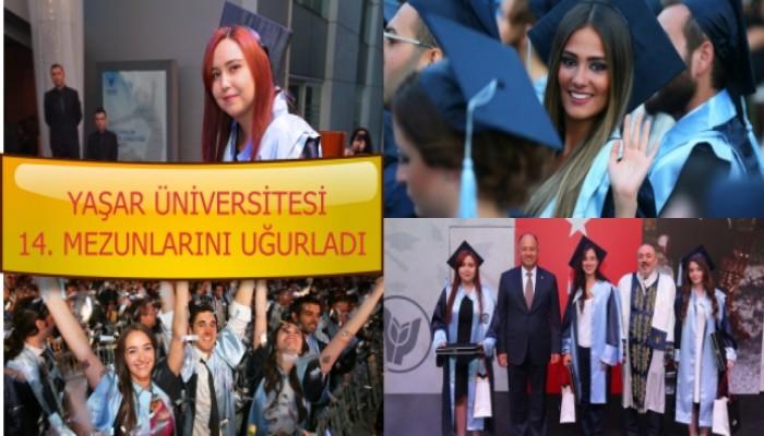 Yaşar Üniversitesi 14'üncü dönem mezunlarını uğurladı