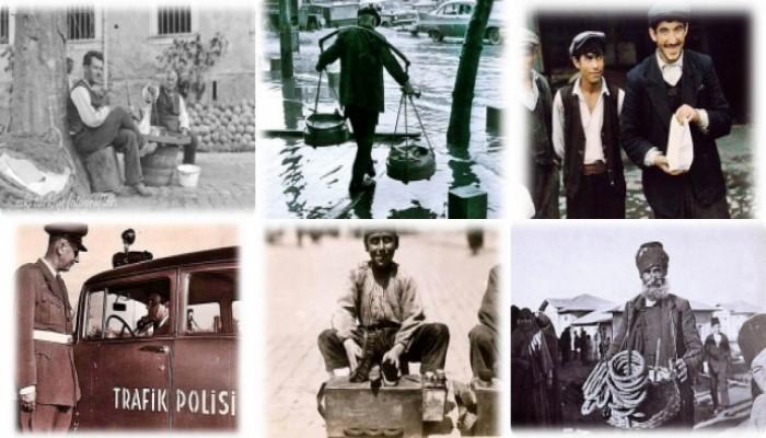 Çalışma Hayatı Hakkında Nostaljik Fotoğraflar