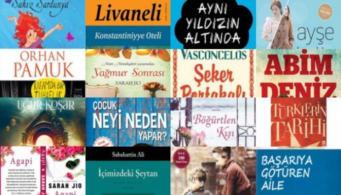 2015'in İlk Yarısında En Çok Okunan 100 Kitap