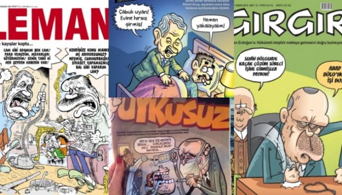 Mizah Dergilerinde Haftanın Gündemi