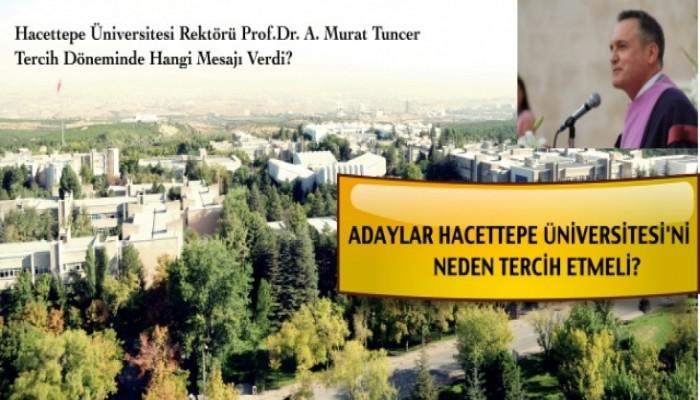 Hacettepe Üniversitesi Adaylara Hangi İmkanları Sunuyor?