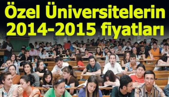İşte Vakıf Üniversitelerinin Öğrenim Ücretleri