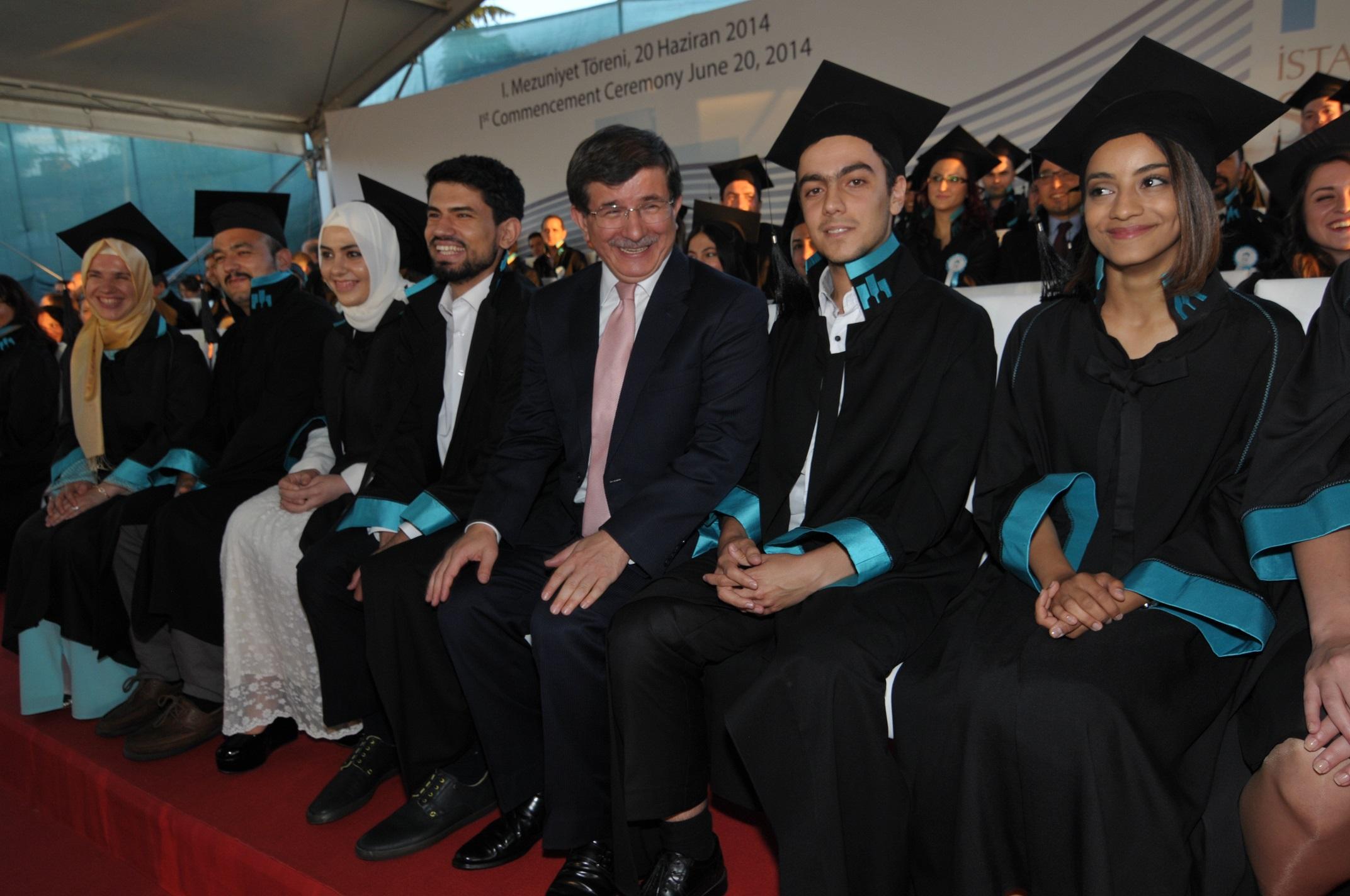 İstanbul Şehir Üniversitesi ilk mezunlarını verdi